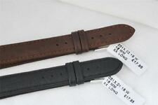 CONDOR EXTRA EXTRA LONG 18mm BLACK LEATHER STRAPS, Choice of Buckle! GRAIN. 51X
