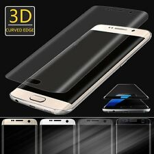 For Samsung Galaxy S7 Edge Curved Real Tempered Glass Full Screen Film Protector
