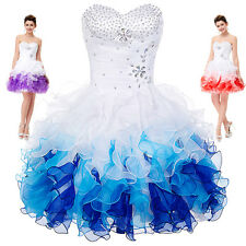 New Short Party Cocktail Prom Ball Gown Mini Formal Homecoming Bridesmaid Dress