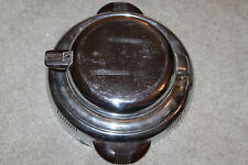 Vintage General Electric GE Waffle Maker #119W4 1940s Art Deco Iron Untested