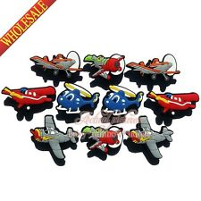 50pcs fly Plane lovely shoe accessories shoe charms fit for garden shoe kid gift