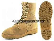 Lot US Military HOT WEATHER COMBAT BOOTS Desert Tan Made in USA Many Sizes EXC
