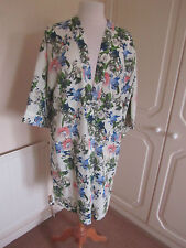 BNWOT SOLD OUT @ TOPSHOP CREAM FLORAL LONG KIMONO MANY SIZES RRP 46.00