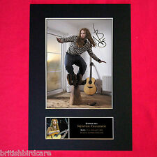 NEWTON FAULKNER Mounted Signed Photo Reproduction Autograph Print A4 256