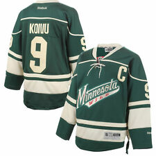 Mikko Koivu Minnesota Wild Reebok Youth Alternate Premier Jersey - Green - NHL