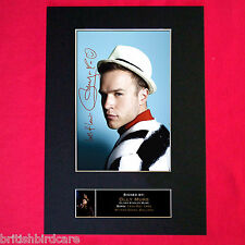 OLLY MURS No1 Autograph Mounted Signed Photo RE-PRINT A4 83