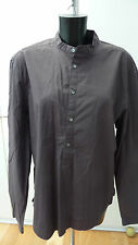 COS Size L suit 14 - 16 grey smock style shirt in GC no collar.   (93)