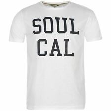 SoulCal Mens Logo T Shirt Short Sleeve Round Neck Casual Summer Tee Top