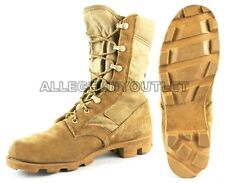 US Military COMBAT JUNGLE BOOTS Panama SPEEDLACE Hot Weather Desert Tan MINT