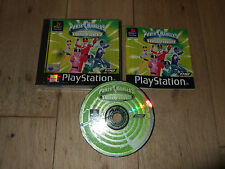 POWER RANGERS TIME FORCE PLAYSTATION PS1/PS2 PS3 GAME RARE