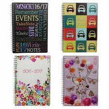 Item No. 3899 Academic 2016 2017 Week To View Student Diary - 4 Designs