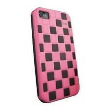 NXE EX-AP-4P-VEN-2 Ventura Hybrid Protective Dual Layers Case for iPhone 4/4s.