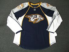 New Nashville Predators Authentic Team Issued Reebok Edge 1.0 Hockey Jersey