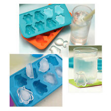 Silicone Penguin Ice Cube Pudding Chocolate Candy Jelly Maker Tray Mold Mould