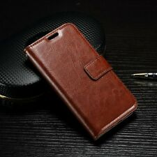 Luxury Flip PU Leather Card Photo Slot w/Strap Cover Case Wallet For LG K4