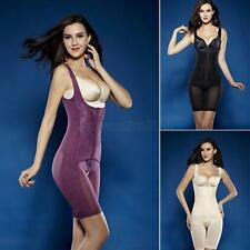 Ladies Seamless Full Body Shaper Control Firm Tummy Waist Underbust Cincher Suit