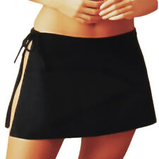 NEW FREYA BY FOOTPRINTS BLACK SEXY SIDE TIE BEACH SWIMWEAR SKIRT/BOTTOM LADIES !