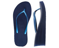 Havaianas Women's High Fashion Wedge Sandal - Navy