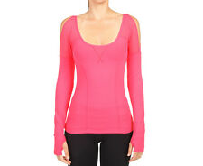 Lorna Jane Women's Violet Excel Long Sleeve Top - Nectarine
