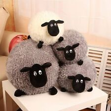 SOFT MASCOT PLUSH TOYS TOY KIDS WHITE/GREY LOVELY BABY DOLL STUFFED LOVELY SHEEP