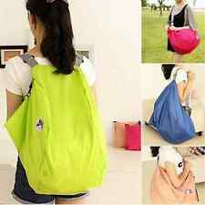 Women Travel Bags Folding Nylon Luggage Bags Backpacks Travel Shoulder Bag Pouch