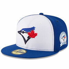 Toronto Blue Jays New Era 40th Anniversary 59FIFTY Fitted Hat - White/Blue - MLB