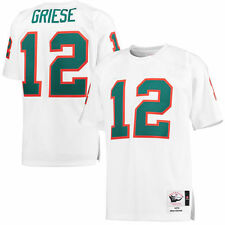 Bob Griese Mitchell & Ness Miami Dolphins Football Jersey - NFL