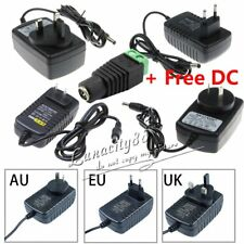 2A Power Supply Adapter Charger Converter AC/100-240V to DC/12V For Led Strips