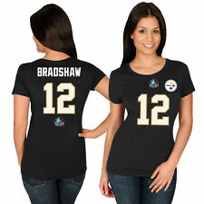 Terry Bradshaw Majestic Pittsburgh Steelers T-Shirt - NFL
