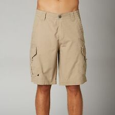 NEW FOX RACING DARK KHAKI SLAMBOZO CARGO SHORTS SHORT MENS ADULT LARGE POCKETS