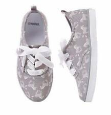 NWT Gymboree Girls Animal Party Grey Zebra Shoes Sneakers 9 10 11 12 13 1 & 2
