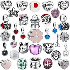 2016 New Fine 925 Sterling Silver Charms Fashion Bead Fit Women Bracelets Chain