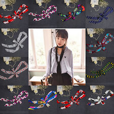 New Fashion Stylish Women Long Soft Silk Chiffon Scarf Wrap Headband Belt