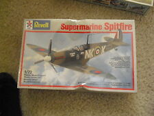 Vintage Revell Supermarine Spitfire Fighter Airplane Model Kit 1:72 Scale MIB