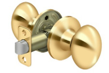 Passage Egg Knob Set in 7 Finishes By FPL Door Locks & Hardware