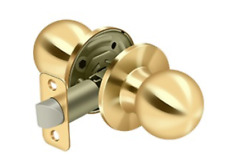 Passage Door Lock Set Round Knob 7 Finishes By FPL Door Locks & Hardware