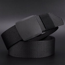 Military Fashion Men's Outdoor Tactical Nylon Canvas Web Waistband Sports Belt