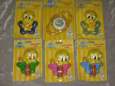 Adorable Baby Looney Tunes Water Filled Teether Rattle Play NEW!