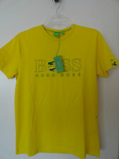 NWT HUGO BOSS BRAZIL FLAG WORLD CUP 2014 SOCCER FOOTBALL MENS T-SHIRT COTTON