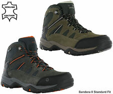 Hi-Tec Bandera II Waterproof Boot Leather Standard Fit Lace Walking Hiking Mens