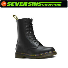 NEW! DR.MARTENS 1490 10-EYE BOOT SMOOTH USA MENS SIZE 11  #11857001 MOTOR