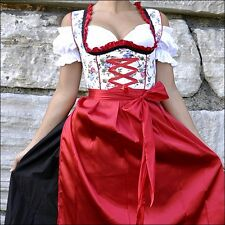 042.. Oktoberfest Dirndl German Austrian Dress Sizes: 4.6.8.10.12.14.16.18.20.22