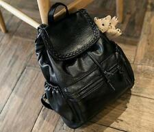 New Women Pu leather Casual Bookbags Backpacks String Closed Schoolbags Satchels