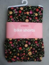 Gymboree Fiesta Del Sol Black Yellow Red Flower Bike Shorts 6-9-12-18-24 NWT New