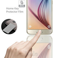 Fingerprint Home Key Screen Protector Shield Film For Samsung Galaxy S6 S7 Edge