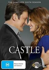 Castle : Season 6 (DVD, 2014, 6-Disc Set) NEW