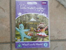 IN THE NIGHT GARDEN WHAT LOVELY MUSIC DVD FREE POST