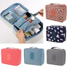 Travel Cosmetic Makeup Toiletry Case Wash Organizer Storage Pouch Hanging Bag AU