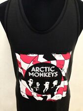 New vintage style Arctic monkeys indie mod emo rock t-shirt singlet tank size L