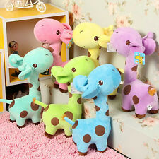 2016 New Giraffe Soft Plush Toy Animal Dear Doll Baby Kid Children Birthday Gift